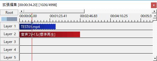 動画オブジェクトの長さ