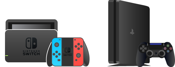 SwitchとPS4