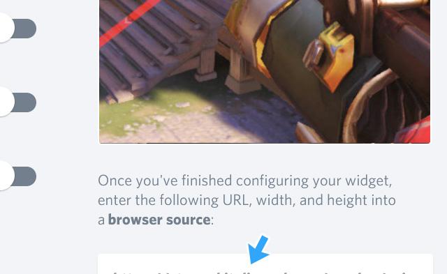URLが表示されない