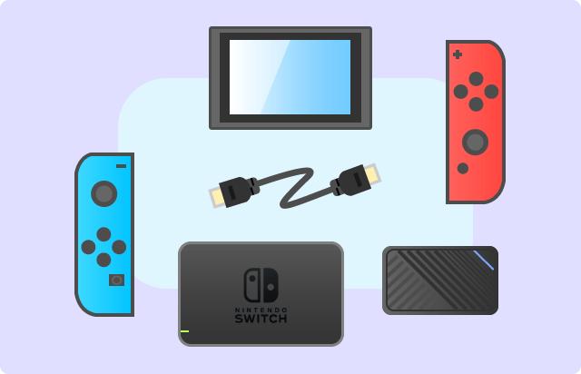 Switchとキャプチャーボード